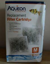 Aqueon QuietFlow Replacement Filter Cartridges Medium 12pk