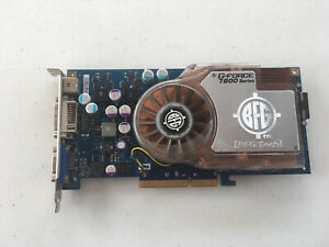 BFG Nvidia GeForce 7800GS OC AGP 4X/8X GDDR3 256MB Graphics Card VGA DVI S-Video
