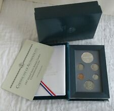 More details for usa 1997 p prestige 6 coin proof year set + botanic silver dollar - complete