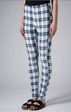 Topshop Cotton Blend Regular Size Leggings for Women