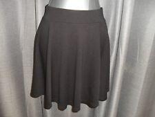 BNWT H&M Divided size S black above knee short flared skirt in EC