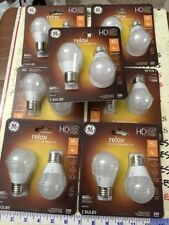 7X2PK GE RELAX LEd Dimmable HD Light bulbs A15 Relax 4-watt (Replaces 40-watt)