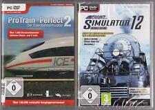 Pro Train Perfect 2 Hauptspiel + Trainz Simulator 12 Hauptspiel Ultimate Edition