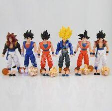 Dragonball Z Dragon ball DBZ Goku Vegeta Action Figure Toy Set of 6pcs #A Rare
