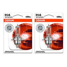 2x Daewoo Matiz Genuine Osram Original High/Low Dip Beam Headlight Bulbs Pair