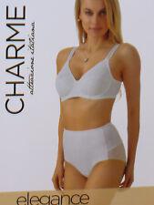 guaina culotte CHARME modellante linea ELEGANCE microfibra e tulle Tg 3 panna