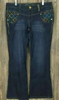Coogi Jeans Women's Boot-Cut Stretchy Cotton/Spandex~Size 11/12 (33/30)