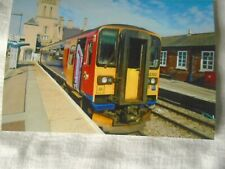 6x4 Photo of East Midlands Trains Class 153-153382 at Lincoln Railway Station