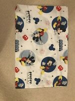 Disney Mickey Mouse Toddler Bed Flat Sheet 45x58
