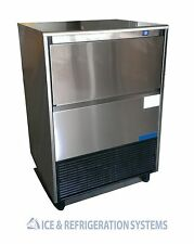 STAINLESS STEEL 214LB COMMERCIAL UNDERCOUNTER ICE MACHINE MAKER
