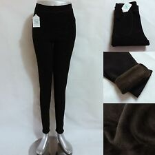 Women Girl Winter Warm Fleece Stretch Thermal Skinny Fur Leggings Ladies pants