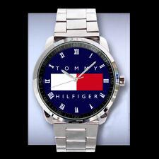 New tomi hilfiger Wheel elegan Logo Sport New Metal Watch