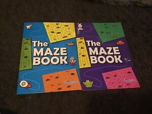 2 Squiggle The Maze Books A4 Size