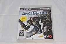 Warhammer 40,000: Space Marine (Sony PlayStation 3, 2011) Brand New