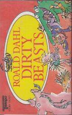 Roald Dahl Dirty Beasts Cassette Audio Book FASTPOST