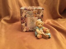 "Cherished Teddies Tanna ""When Your Hands Are Full."" 476595 Mother's Day"