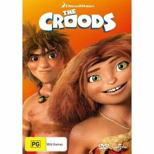 THE CROODS DVD Region 4 BRAND NEW on hand IN AUS!