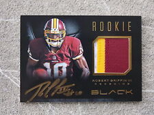 Robert Griffin III Redskins Panini Black Prime Auto 10/99. His jersey number!