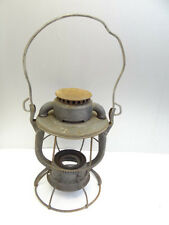 Vintage Metal Dietz Vesta New York New Haven Hartford Railroad Lantern Body Lamp