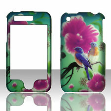 Twin Birds   for Apple Iphone 3GS, 3G Case Cover Hard Snap on Case