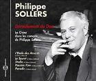 966 // LA CHINE DANS LES ROMANS DE PHILIPPE SOLLERS DEROULEMENT DU DAO CD NEUF