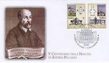 Vatikan 2008 FDC Nr.1623 - 1624 Andrea Palladio