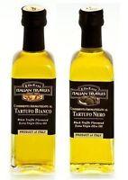 Trüffelöl Trüffel Öl 1 x weiße & 1 x schwarze Trüffel 110ml Italien