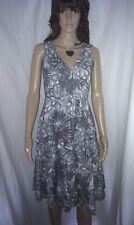 PHASE EIGHT Evening Dress. Formal or Cocktail Party. Gorgeous. Cotton.  SIZE 8