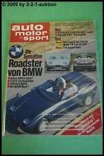 AMS Auto Motor Sport 16/86 BMW Z1 Porsche 928 S VW Polo G40 Golf GTI 16V