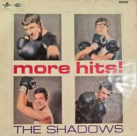 THE SHADOWS MORE HITS - VINYL LP Record