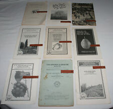 9 US Department of Agriculture lot of Farmer's Bulletin