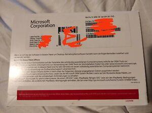 Microsoft Windows 10 Professional (GERMAN) 64Bit DVD