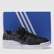 Adidas Forum Lo Entrenadores Blanco y Negro-Size UK 5 EU 38