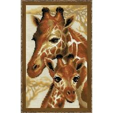 RIOLIS 1697 Giraffes Embroidery Kit Counted