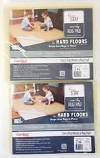 Lot Of 2! Con-tact Brand Eco-stay Non-slip Rug Pad, 2' X 4'