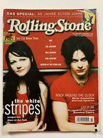 WHITE STRIPES / ELTON JOHN / EMINEM GERMAN ROLLING STONE MAGAZINE MARCH 2003