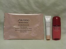 Shiseido Trio - Ultimune Concentrate Serum, Benefiance Retinol Eye Mask & Cream