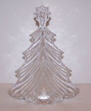 "STUNNING SIGNED WATERFORD CRYSTAL CHRISTMAS TREE 7 1/2"" SCULPTURE/FIGURINE"