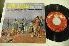 BOB AZZAM AVEC MINY GERARD 45T LOVE IN PORTO FINO.FESTIVAL SEXY COVER CHEESECAKE