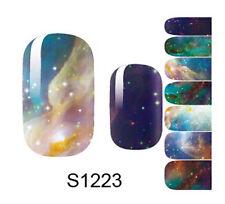 New Nail Art Transfer Sticker Decal Pretty DIY Self adhesive Full Wraps S1223