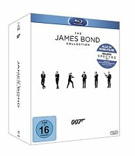 JAMES BOND 007 BLU RAY COLLECTION ALLE 24 FILME INKL. SPECTRE DEUTSCH