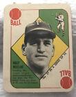 1951 Topps Red Backs Baseball Cards 47