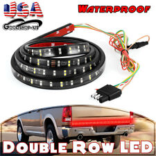"60"" 2-Row 3528 LED Tailgate Strip Light Truck Brake Reverse Signal for GMC RAM"