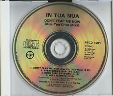 In Tua Nua - Don't Fear Me Now (4 Track CD Single) ... *DISC ONLY