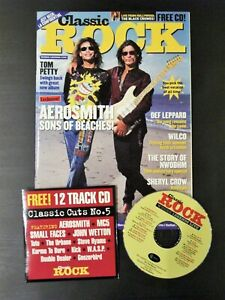 Rare Classic Rock Magazine Issue No 5 Complete with CD Near Mint Condition
