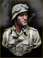 1/10 resin figure bust model garage kit WW II German soldiers Bust 89 resin kit