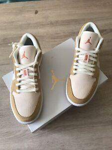Nike Air Jordan 1 Low SE Twine•Orange-Quartz DH7820 700 - UK6.5 US9 EU40.5