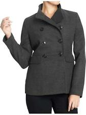 Old Navy Women's Charcoal Heather Military Coat Size S