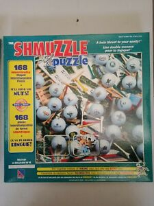 The Shmuzzle Puzzle Tee It Up Jigsaw Puzzle 168 Identical Piece Complete 1982