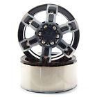 Xtra Speed Aluminum 1.9 Inch 6 Spoke Heavy Duty Beadlock Wheel RC Cars #XS-59594